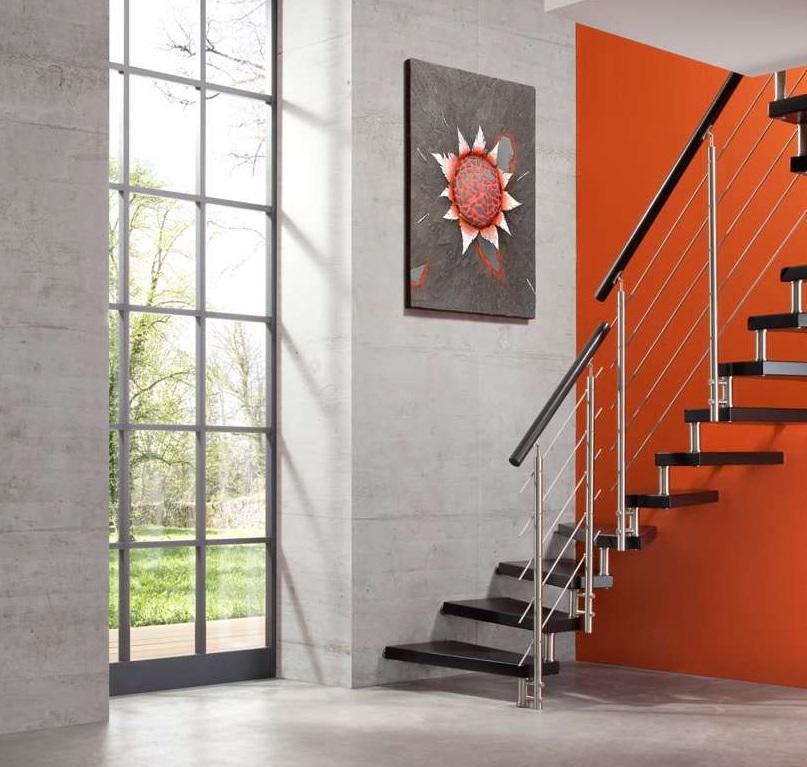 arcus treppen bolzentreppen aus der produktion von. Black Bedroom Furniture Sets. Home Design Ideas