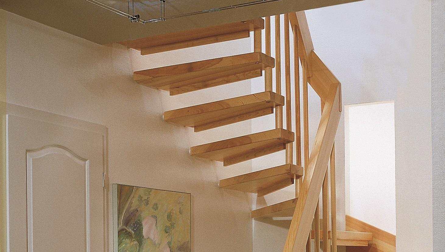 holztreppe rutschfest machen. simple treppe aus braunen wpc und