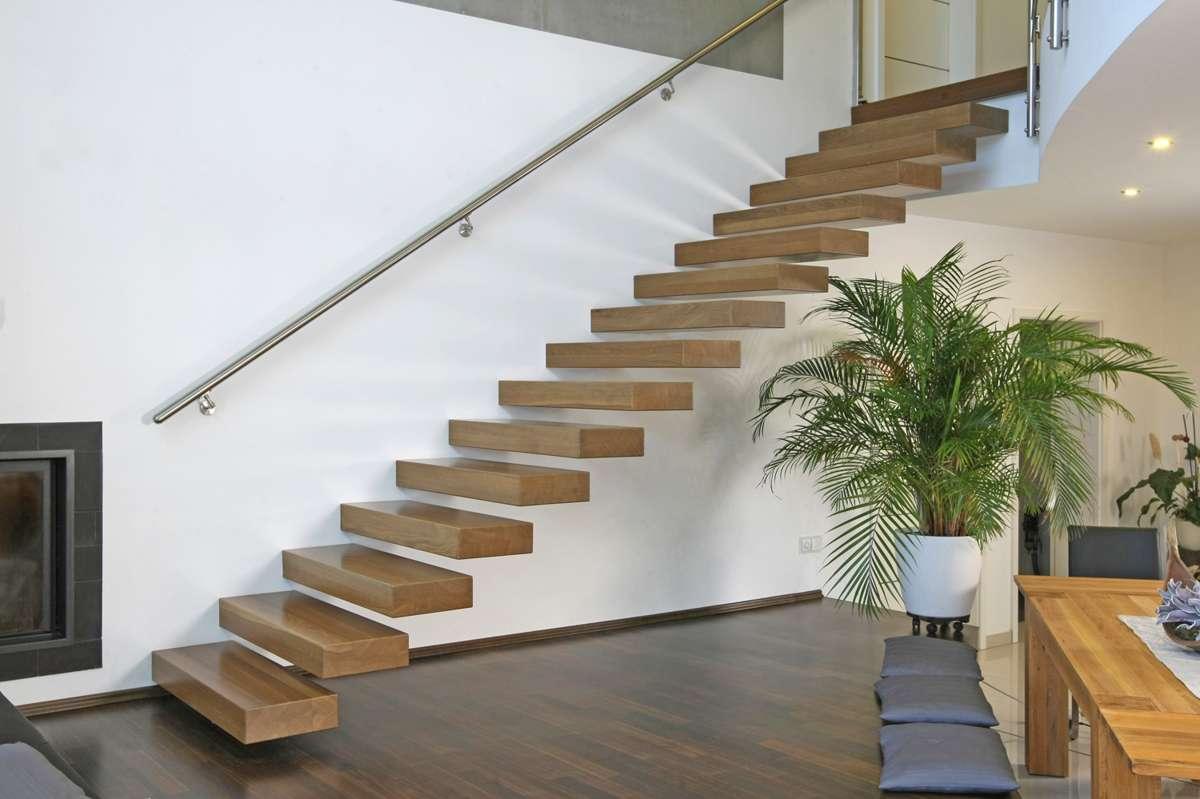 kragarmtreppen moderne freitragende treppen arcus treppenbau. Black Bedroom Furniture Sets. Home Design Ideas