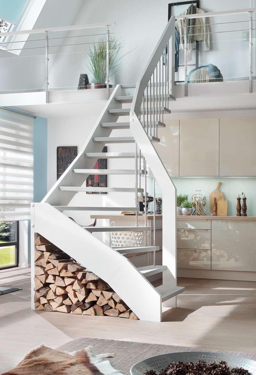 Moderne Holztreppe arcus treppen - moderne treppen - designtreppen - mit qualität