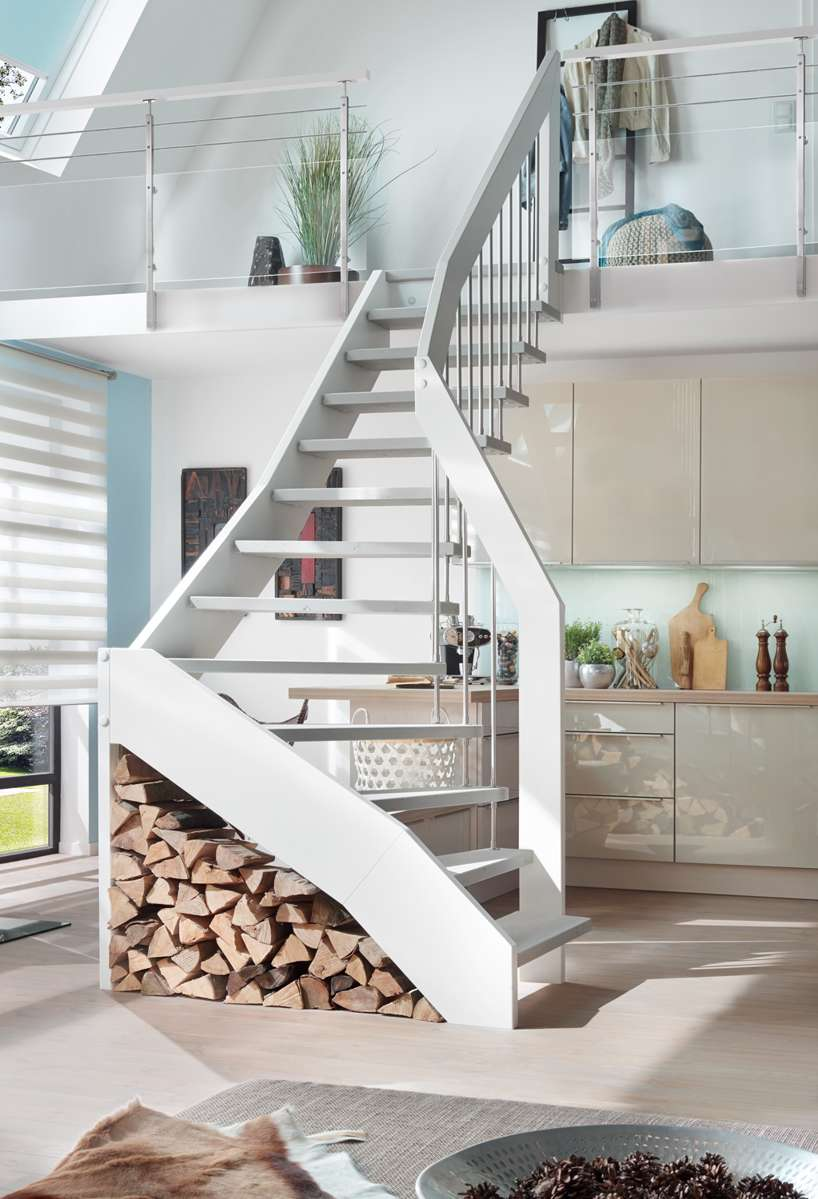 Arcus treppen moderne treppen designtreppen mit qualit t for Modernes haus treppe