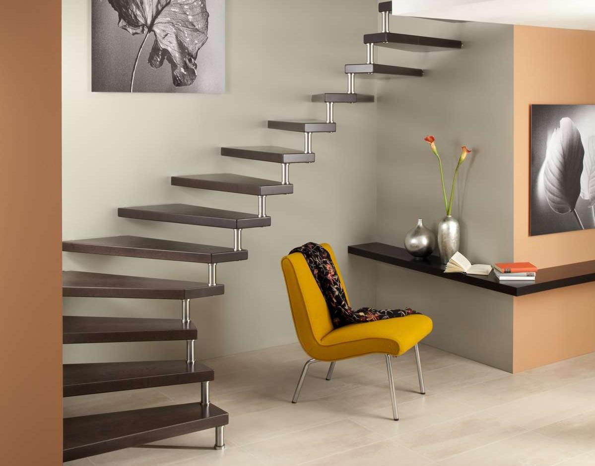 Treppen Ohne Geländer arcus treppen planungsleistung für architekten und planer