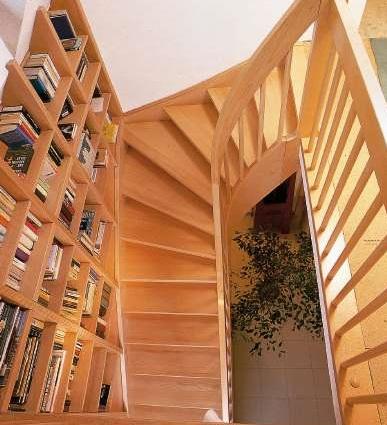 wendeltreppen halbgewendelte treppen arcus treppen. Black Bedroom Furniture Sets. Home Design Ideas